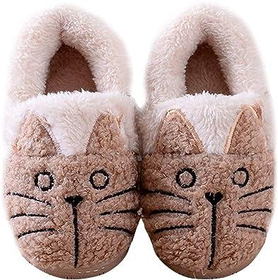 Women/Kids Family Cute Cat Warm House