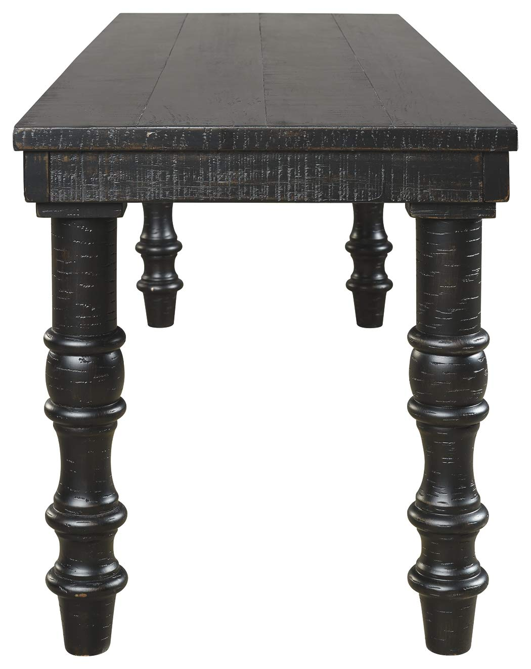 Signature Design by Ashley A3000160 Dannerville Accent Bench, Black by Signature Design by Ashley (Image #4)