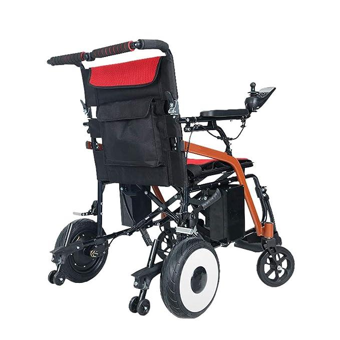 Amazon.com: HBBenz Lightweight Electric Wheelchair, Portable ...