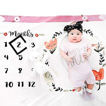 Happy Cherry Accessoire B/éb/é Photographie Tapis Photo Couverture B/éb/é D/écor Photo Shoot Nouveau-n/é Motif Chat