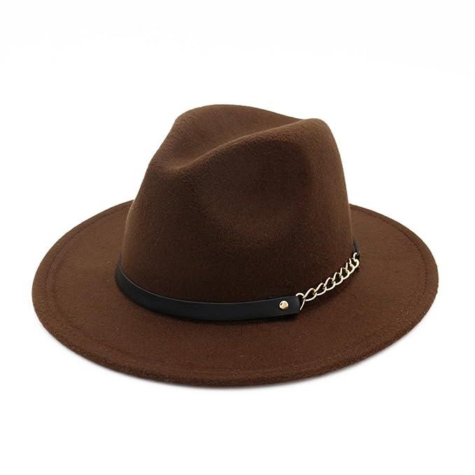 2d489be1 Mujeres Chicas Modernos Otoño Invierno Retro Sombreros Fedora Sombreros  Trilby