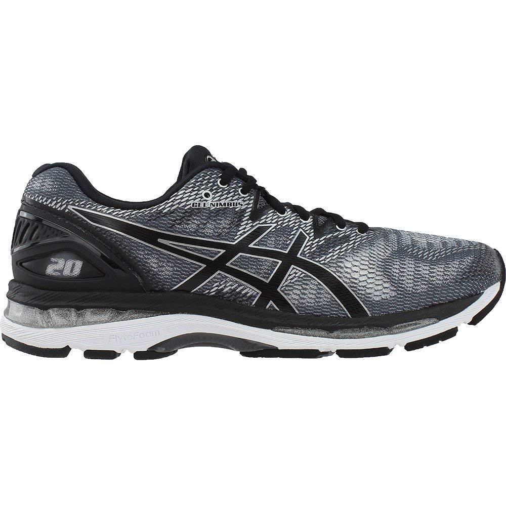 ASICS Men's Gel-Nimbus 20 Running Shoe, Carbon/Black/Silver, 6.5 Medium US by ASICS (Image #2)