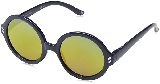 Stella McCartney SK0019S 001 Gafas de Sol, Azul (001-Bluee ...