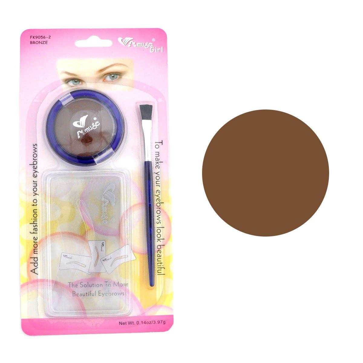 Amazon Amuse Eyebrow Stencil Makeup Kit Black Beauty