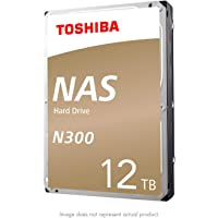 "Toshiba N300 NAS 3.5"" Internal Hard Drive- SATA 6 GB/s 7200 RPM 128MB Disco Duro Externo, 12TB"
