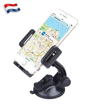 Soporte teléfono coche universal con rotación 360 ° Soporte para ...