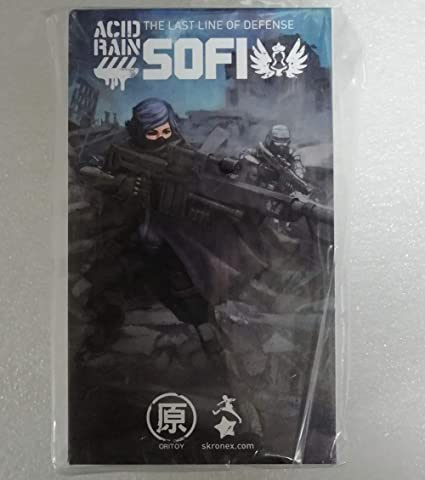 Ori Toy 1//18 Acid Rain World Female Soldier Sofi PVC Action Figure New Robot