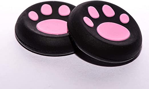 Vivi Audio Thumb Stick Grips Cap Cover Joystick Thumbsticks Caps for PS4 Xbox ONE Xbox 360 PS3 PS2 Pink Cat Dog Paw