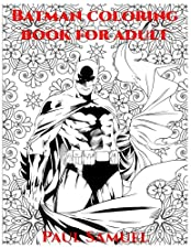 Batman Coloring Book For Adult Marvel Heroes