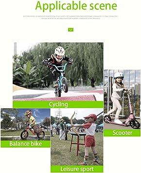 Guantes De Ciclismo Deportes para Niños Al Aire Libre Antideslizante Absorción De Impactos Equilibrio Bicicleta Medio Dedo Guantes Niños Y Niñas: Amazon.es: Deportes y aire libre