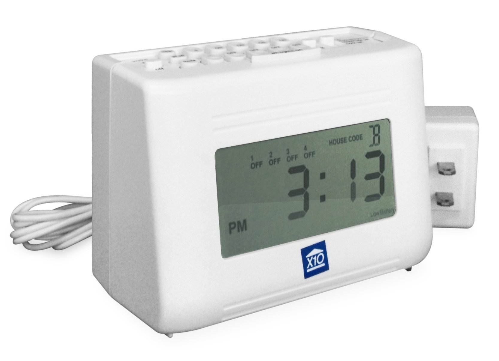 X10 MT14A 64-Event LCD Mini Timer with new LCD display (NEW MT13A) by X10 MT14A