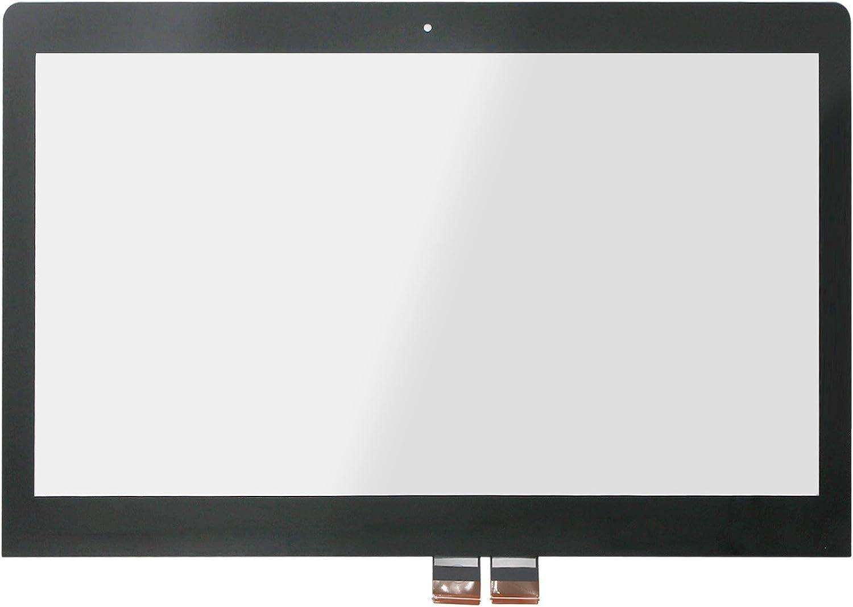 FTDLCD 14 Pulgadas Pantalla Táctil digitalizador Touch Panel Delantero Cristal para Lenovo Yoga 500 – 14isk 80r5: Amazon.es: Informática