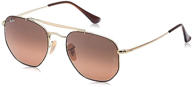 Amazon.com: Ray-Ban RB3648 Marshall Aviator - Gafas de sol ...