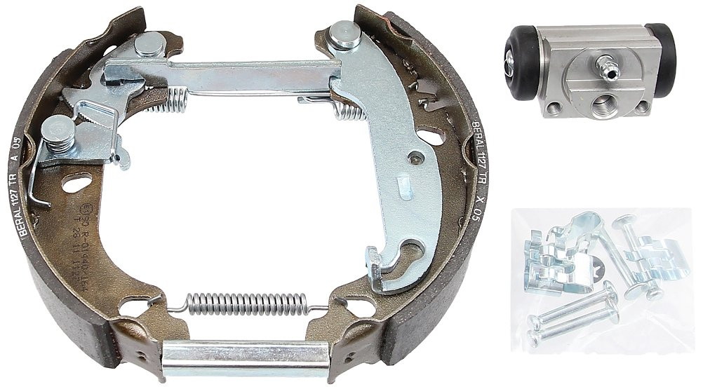 ABS 111426 Brake Shoe Kit with Wheel cylinder ABS All Brake Systems bv