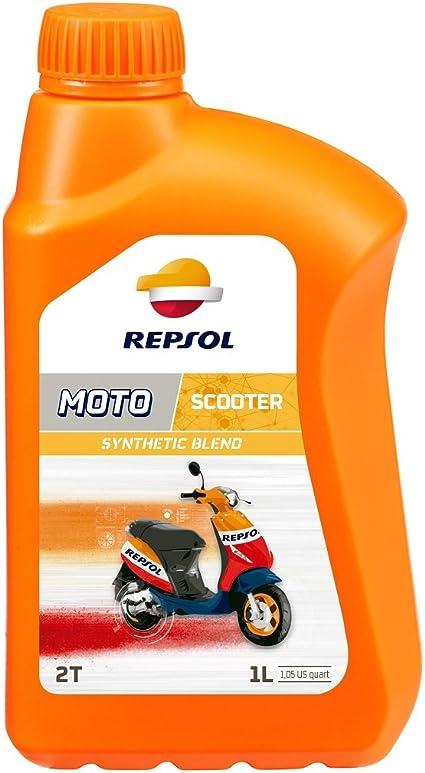 Repsol RP149Y51 Moto Scooter 2T Aceite de Motor, 1 L: Amazon.es: Coche y moto
