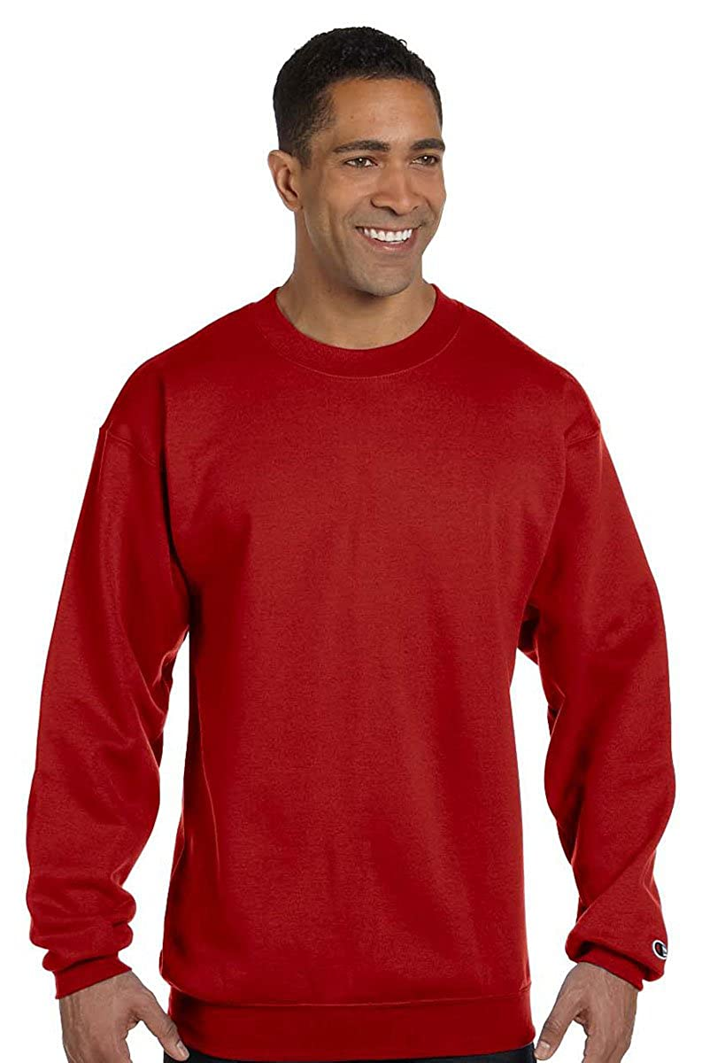 PULLOVER VARIETY NEW MENS CHAMPION TEXTURED FRENCH TERRY CREW NECK SWEATSHIRT