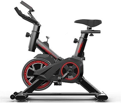SZ-JSQC Las Bicicletas de Ejercicio Vertical (ciclos Estudio de Interior) - Gran bidireccional del Volante, la Correa de transmisión, Resistencia Infinita, Pantallas LCD: Amazon.es: Deportes y aire libre