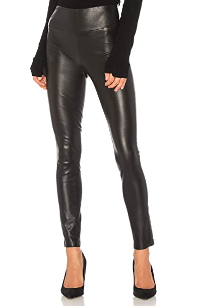 e235c01ad481e cmz2005 Womens Sexy Black Faux Leather Pants Stretch High Waisted Leggings  71696 at Amazon Women's Clothing store: