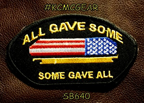 ALL GAVE SOME, SOME GAVE ALL Oval Small Badge Patch for Vest jacket SB640