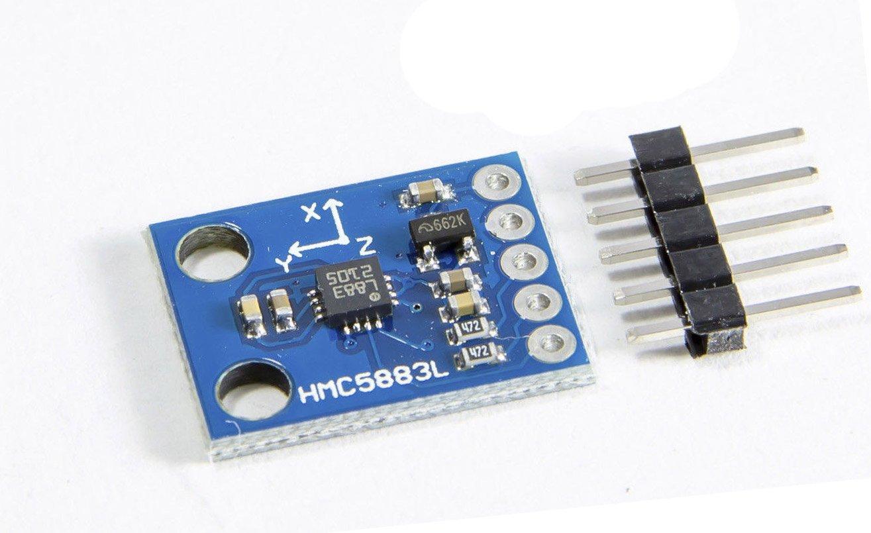 3 De Eje Brújula Magnetómetro Sensor hmc5883 HMC5883L para Arduino ...