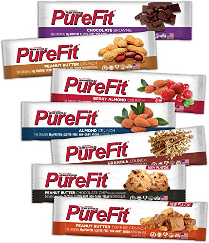 PureFit Gluten-Free Nutrition Bars with Protein Sampler, 7 Count