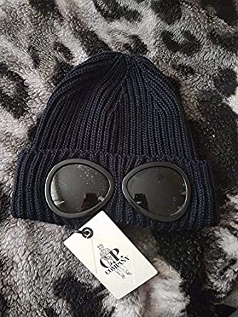 a46dad7e408 CP Company CP Goggle Beanie Navy  Amazon.co.uk  Clothing