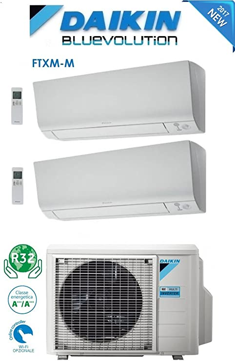 Daikin - Climatizador aire acondicionado Dual Split Inverter ...