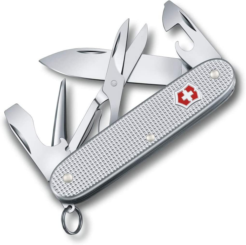 Victorinox – Victorinox Pioneer X Alox – Swiss Army Pocket Knife – 93 mm – 9 Tools