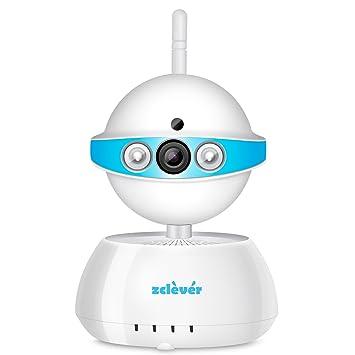 Zclever Wifi Baby Monitor, sistema de cámara de seguridad inalámbrico 720P, para bebés /