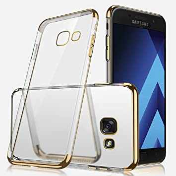 competitive price dbd9d 62e60 Samsung A520 Case, Galaxy A5 2017 Silicone Case, Samsung A5 2017 Mobile  Phone Case, SevenPanda Ultra Thin Slim Soft Crystal Clear TPU Silicone Case  - ...