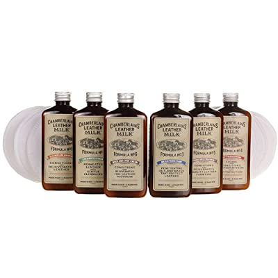 Leather Milk Complete Leather Care Kit. Leather Conditioner