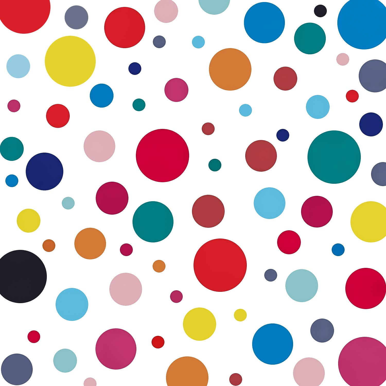 240 Decals Polka Dot Decor Rainbow Colors Polka Dot Wall Decor Circle Spot Wall Sticker Primary Colors Polka Dots Decals Kids Wall Decals Classroom Wall Decals Playroom Wall Decor