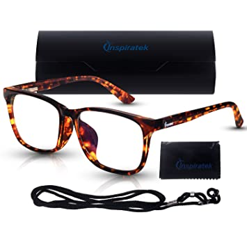 Amazon.com: Gafas de bloqueo de luz azul Inspiratek para ...
