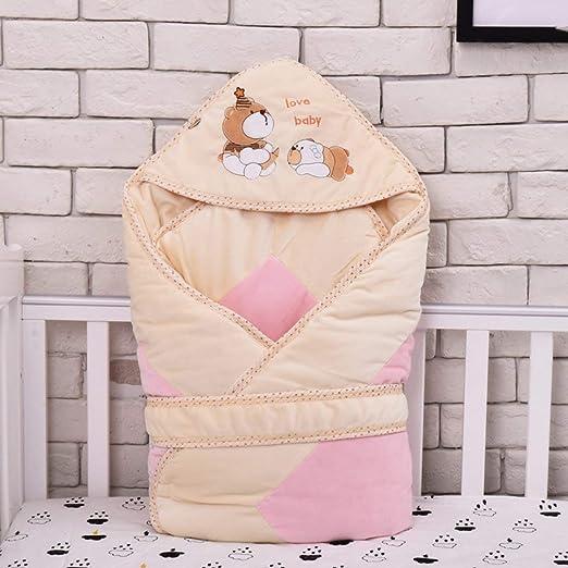 Crystallly Saco De Dormir para Bebé Manta para Bebé Algodón Recién ...