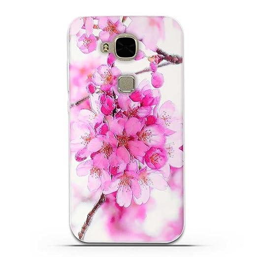 12 opinioni per Huawei G8 / G7 Plus (GX8 D199 ) Cover, Fubaoda 3D Rilievo Bel fiore UltraSlim