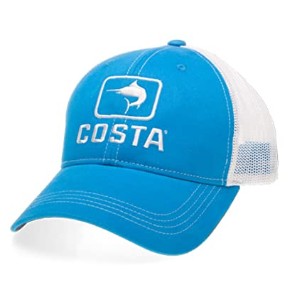 Amazon.com  Costa Del Mar Marlin Trucker Hat  Sports   Outdoors 0e905adbabe9