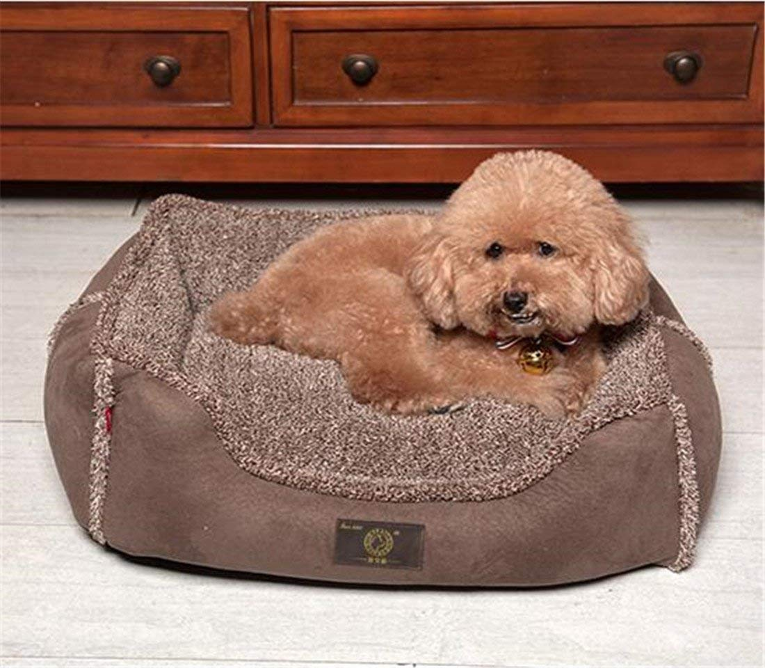 L KIUJHY Dog Bed Pet Supplies, Removable and Washable Four Seasons Universal Soft and Comfortable Ideal Comfortable Bed