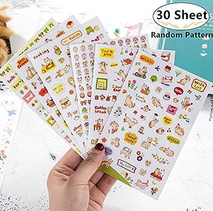 Amazon 1500 2000 Pieces Cute Cartoon Planner Stickers Value
