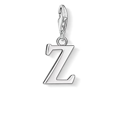 Thomas Sabo Women-Charm Pendant Letter Z Charm Club 925 Sterling Silver 0200-001-12 RRYFJKhQw