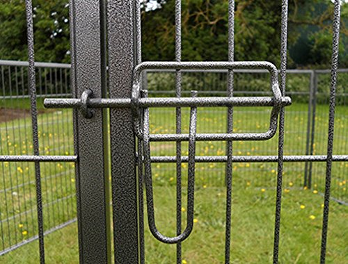 Gunmetal Grey Small BUNNY BUSINESS Heavy Duty 6 Panel Puppy Play Pen//Rabbit Enclosure
