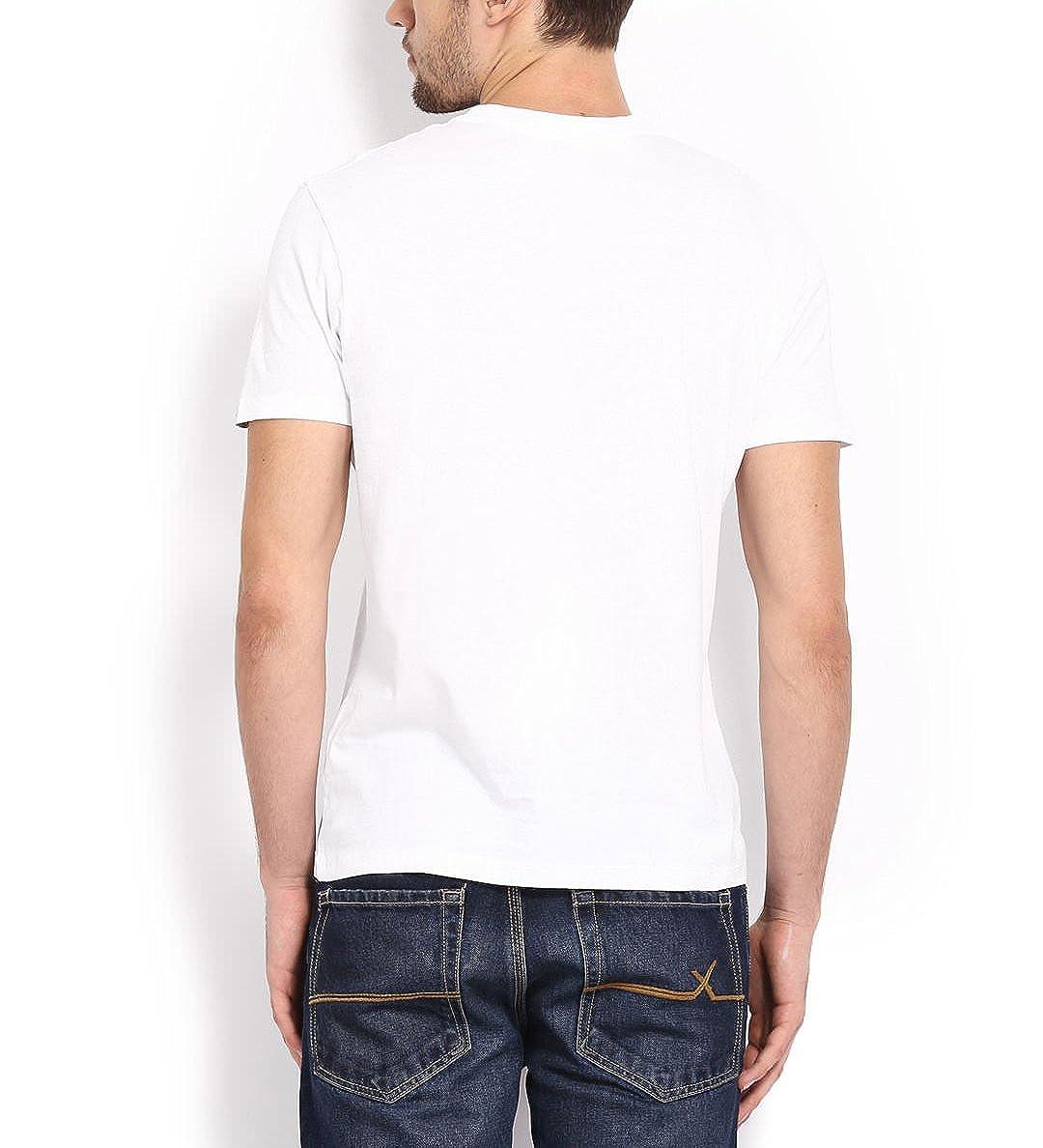 c8903360 Canis Mooch Nahi toh Kuch Nahi Beard   Round Neck   Typographic:Slogan Tee    Men's White T-Shirt: Amazon.in: Clothing & Accessories
