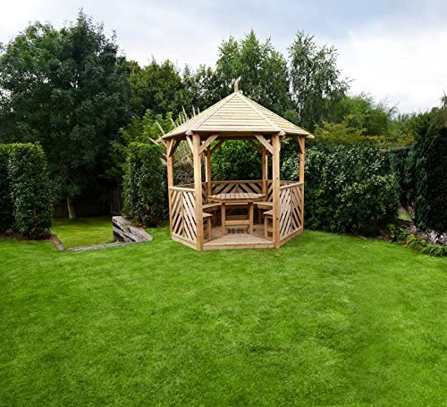Anchor rápido Buckingham Gazebo con mesa y 5 sillas – . VENTA.: Amazon.es: Jardín