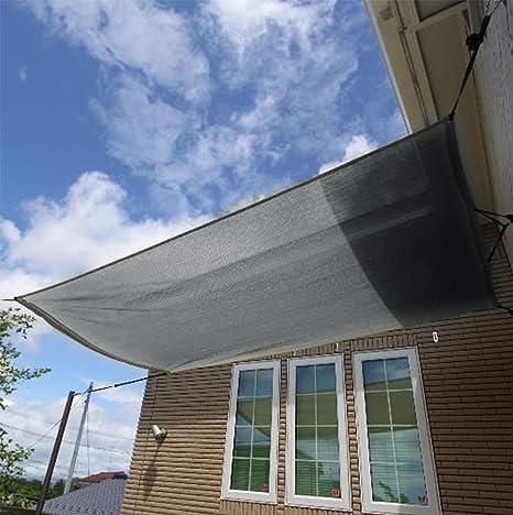 zhangchao Sun Shade -Red De Protección Solar 90% De Tela De Sombra Grabada Edge con Sombra De Malla De Protección Solar para Pergola Permeable UV ...