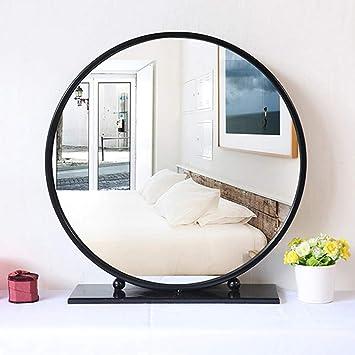 Amazonde Xf Großer Runder Spiegel Schminkspiegel Im