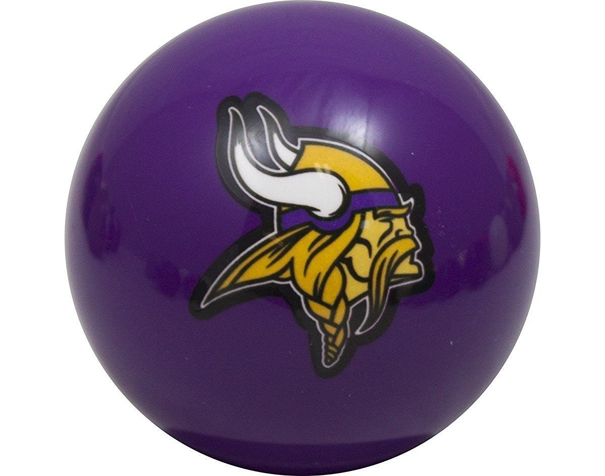 Officially Licenced NFL Minnesota Vikings 紫の Billiard Pool Cue Ball