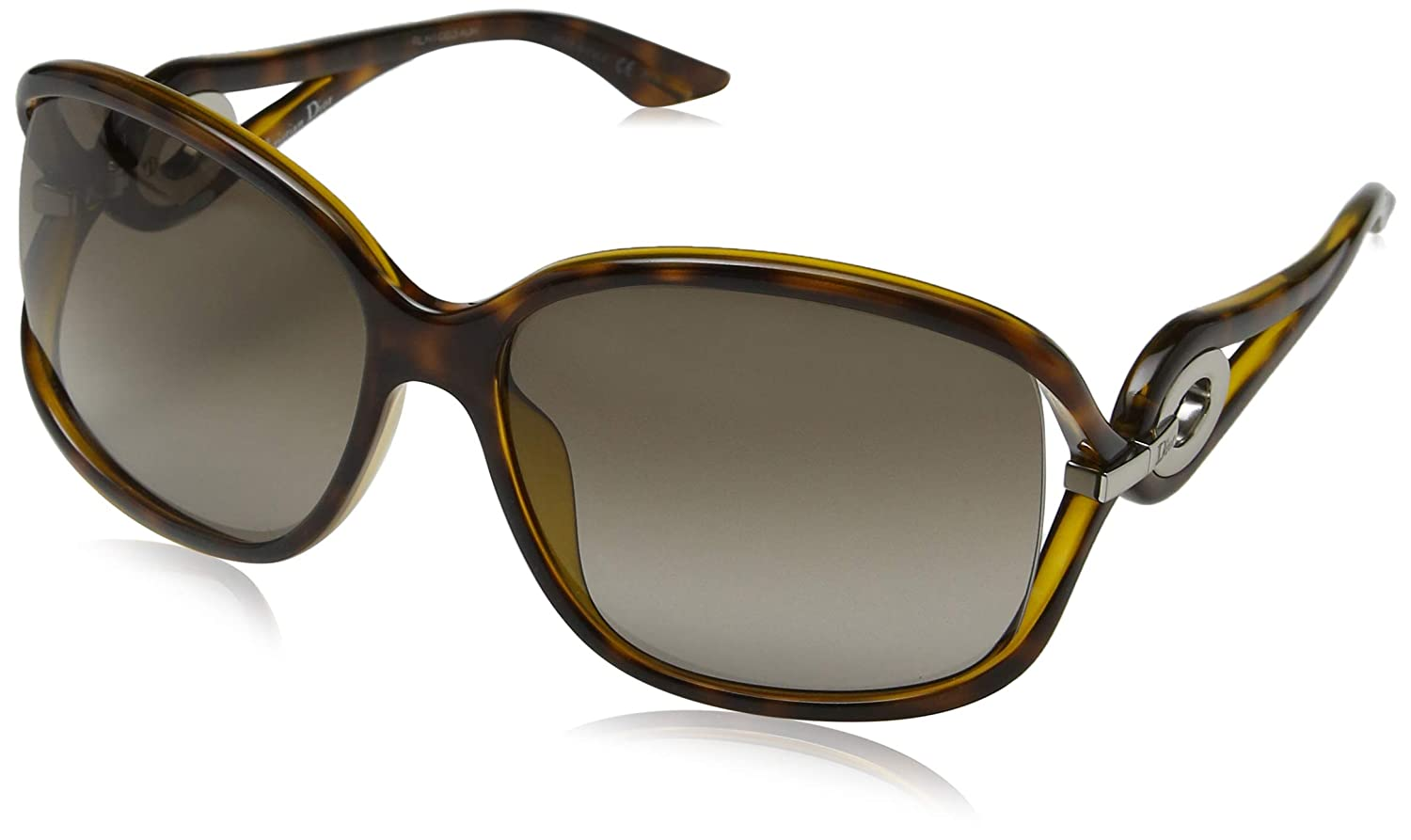 41fbf7d7a927e Amazon.com  CHRISTIAN DIOR SUNGLASSES CD VOLUTE 2 791HA HAVANA  Clothing