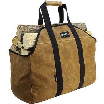 Inno - Bolsa de Almacenamiento para Estufas de Madera de leña, Resistente y Duradera: Amazon.es: Hogar