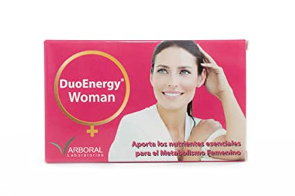 Laboratorios Arboral Duo Energy Woman - Previene y limita molestias y dolores durante el ciclo menstrual