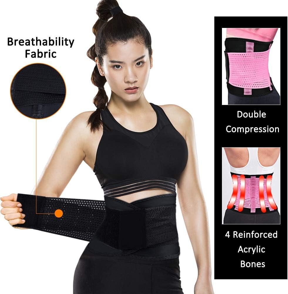 WUQID Waist Trainer Belt for Women Slimming Body Shaper Belt Tummy Control Shapewear Waist Cincher Trimmer Sport Girdle Belt