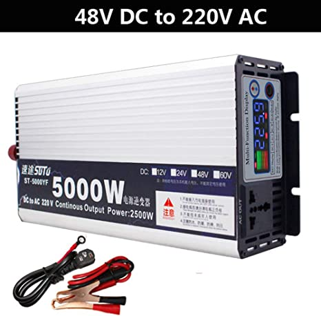 Car 2000W converter power inverter DC 12V to AC220V invertor with USB Safety 1st